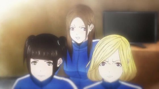 Back Street Girls ゴクドルズ 第4話 感想:身を挺してアニキを守るの格好いい!熊と戦えるアイドル!