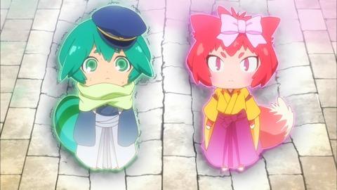 装神少女まとい 第5話 感想:ゆまちん覚醒、赤いきつねと緑のたぬきが可愛い!