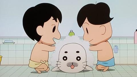 少年アシベ GO!GO!ゴマちゃん 第2話「およげ!ゴマちゃん」感想:ゴマちゃん入浴許可なんだ!