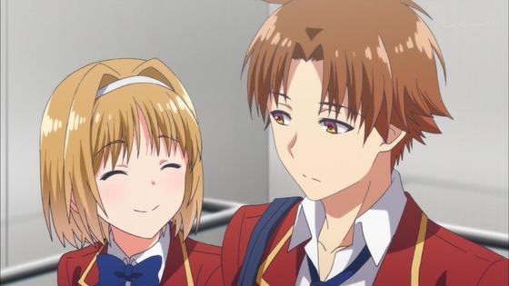 ようこそ実力至上主義の教室へ 第4話 感想:櫛田ちゃんの正体知っちゃうと何言っても怖い!