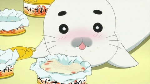 少年アシベ GO!GO!ゴマちゃん 第8話「ペッペッぺッさんのゆううつ」感想:大量のカニ缶は飽きちゃうでしょ!