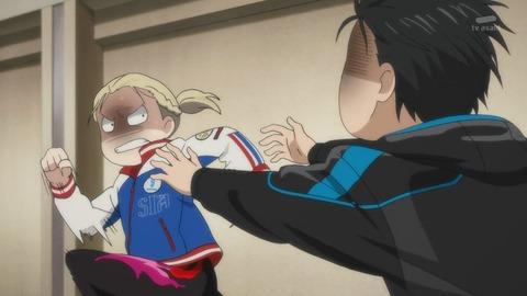ユーリ!!! on ICE 第9話 感想:勇利とユーリの奇妙な友情、ハグしたらいいのに!