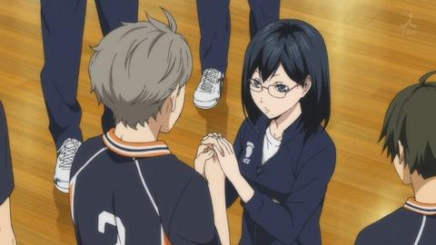 ハイキュー!! 烏野高校VS白鳥沢学園高校 第7話 感想:潔子さんのサービスいいなぁ!