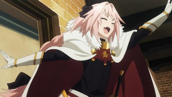 Fate/Apocrypha 第4話 感想:ちゃらんぽらんなアストルフォくんが意外と真面目!