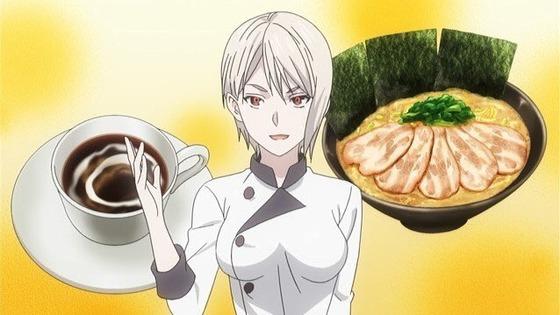 食戟のソーマ 餐ノ皿 第10話 感想:不均一で味の変化を楽しみたいのは確かに納得!