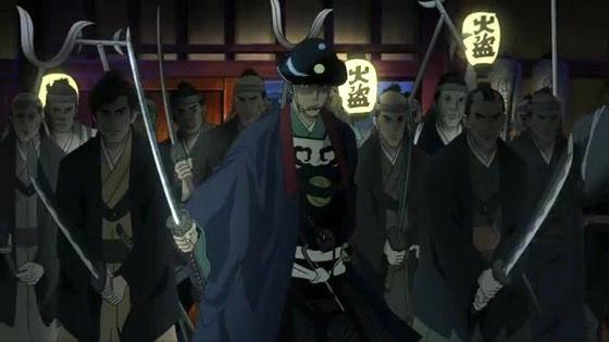 鬼平 第1話 感想:アニメで鬼平犯科帳みれるとは、かっこいい回転納刀が見たかった!