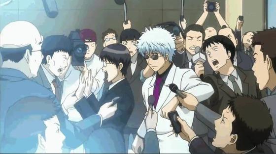 銀魂. ポロリ篇 第10話(338話) 感想:白スーツにグラサンの銀さんがかっこいい!