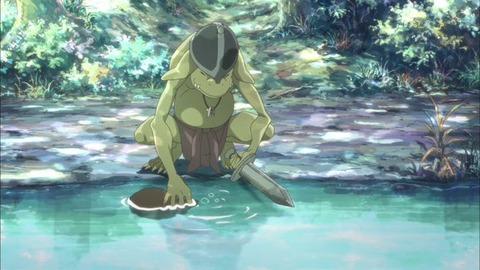 灰と幻想のグリムガル 第2話「見習い義勇兵の長い一日」感想:ゴブリン水汲んでたら襲われた‥