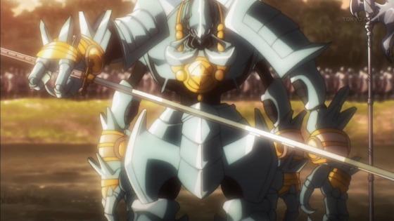 オーバーロードⅡ 第5話 感想:コキュートスさん実力差あっても戦士への敬意を忘れない人格者!