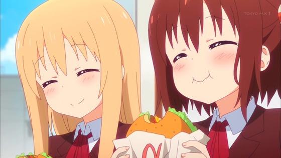 干物妹!うまるちゃんR 第3話 感想:食いしん坊な海老名ちゃんの食費は大変そう!