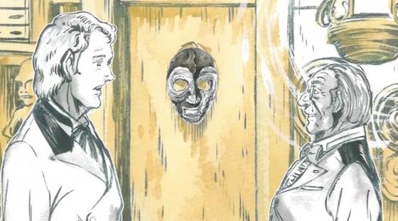 世界の闇図鑑 第10話 感想:やっぱり石仮面だった!あの状態から助かる方法なさそう!