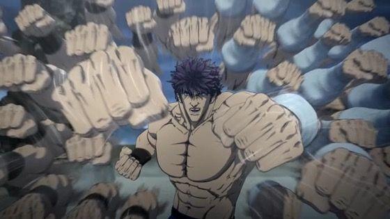 蒼天の拳 REGENESIS 第8話 感想:北斗百裂拳はザコには有効だけど強敵にはあまり通用しないね!