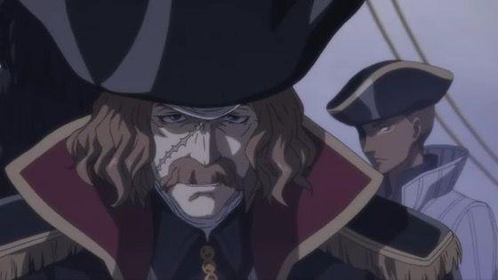 将国のアルタイル 第7話 感想:ハーロックみたいな船長かっこいい!遅参の理由も気になる!