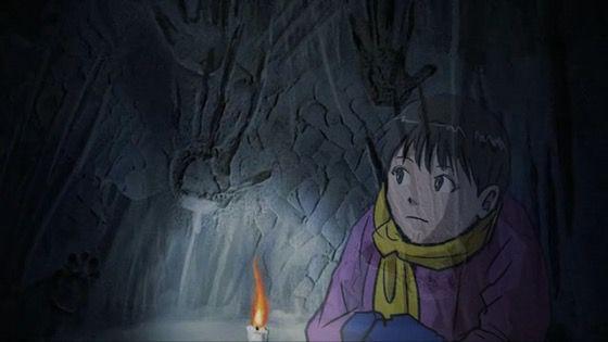 闇芝居(第4期) 第12話 感想:かまくらに閉じ込められて春になったらどうなるんだろう!