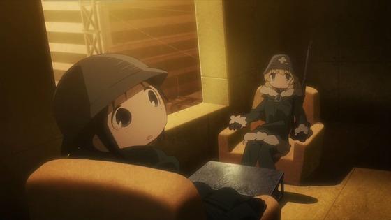少女終末旅行 第5話 感想:住宅が快適そうだけど宿より飯なんだね!