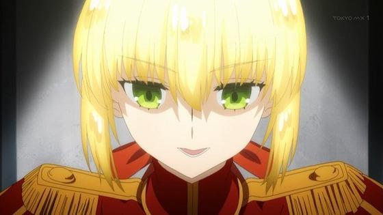 Fate/EXTRA 第9話 感想:セイバー正体を明かして宝具解放!フルネームは言っちゃダメなのかな!