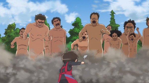進撃!巨人中学校 第11話 「快晴!巨人中学校」感想:画伯に粘土は‥