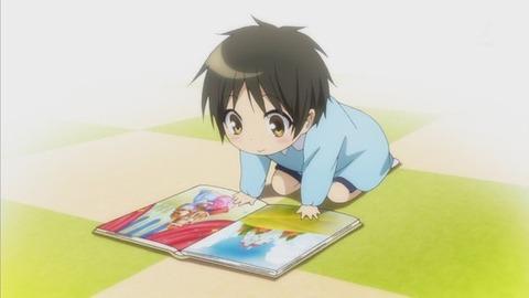少年メイド 第7話「学問は一日にしてならず」感想:園児の頃からカワイイ!