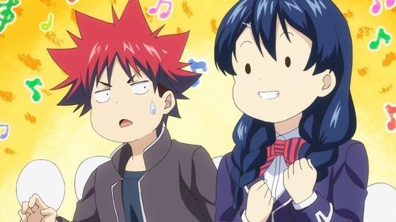 食戟のソーマ 餐ノ皿 第2話 感想:田所ちゃん天使の助っ人!フーチャオピン食べてみたい!