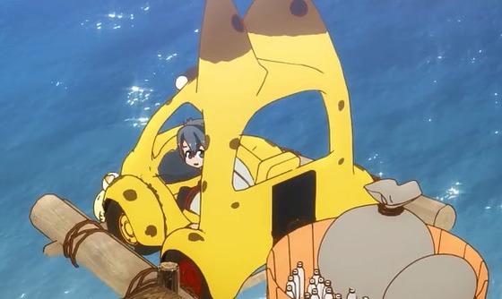 けものフレンズ 第12.1話 考察まとめ:黄色のタイヤはアライさん達の努力の成果だったのね!