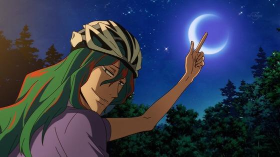 弱虫ペダル GLORY LINE 第24話 感想:尊敬する巻島先輩からのお言葉で坂道くんパワーアップ!