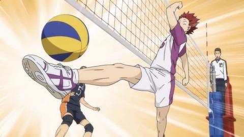 ハイキュー!! 烏野高校VS白鳥沢学園高校 第4話 感想:バレーって足使ってOKだったの!