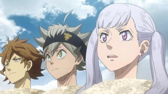 ブラッククローバー 第40話 感想:ヤミ団長に怒られノエルちゃんも砂浜に埋められちゃった!