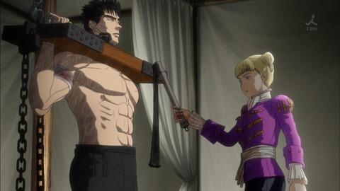 ベルセルク 第2話「聖鉄鎖騎士団」感想:ガッツさん割と楽しんでるのでは?