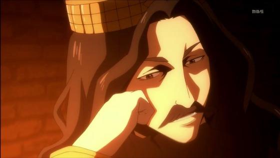 将国のアルタイル 第15話 感想:マフくん鳥の糞で命拾い!国王やばい人だよ!