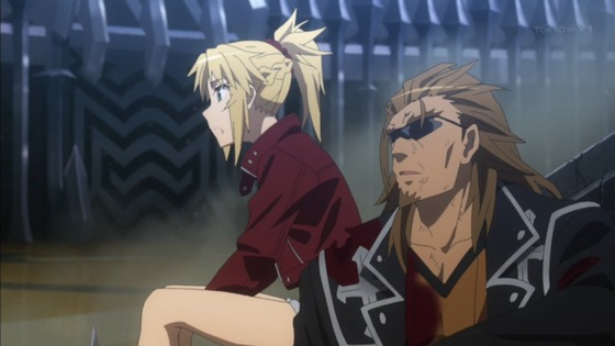 Fate/Apocrypha 第23話 感想:モーさんと獅子豪さんの信頼関係がかっこいい!