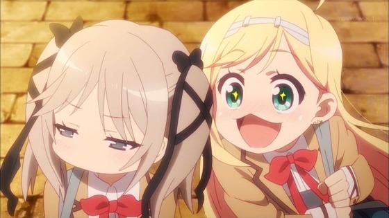 ひなろじ 第1話 感想:お姫様っぽくないけどニッコリ表情がかわいい!