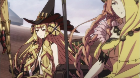チェインクロニクル 第10話 感想:方舟も結界張れないのかな敵のワープずるい!