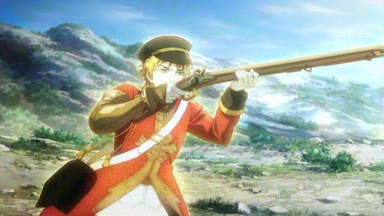 千銃士 第1話 感想:刀の次は銃が擬人化!絶対高貴での走り方は面白い!