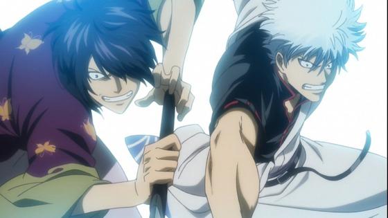 銀魂 第323話 感想:銀さんと高杉さんの共闘が熱い、辰馬さんの扱い酷すぎる!