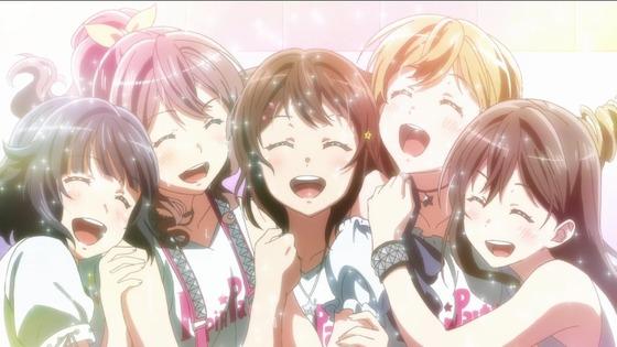 BanG Dream!(バンドリ!) 第13話(最終回) 感想:きらきら星からここまで立派に成長!ん゛〜いい曲!