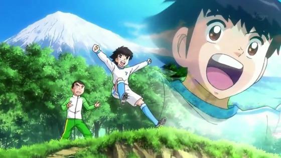 キャプテン翼 第1話 感想:子供がスカイラブハリケーン真似しちゃうから深夜アニメになったのかな!