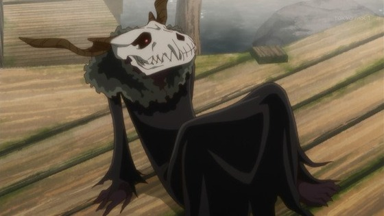 魔法使いの嫁 第10話 感想:エリアス謎が多いけど自分自身も知らないのね!
