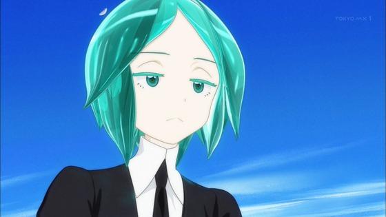 宝石の国 第1話 感想:髪がキラキラで独特なキャラ!ダイヤモンドは硬そう!