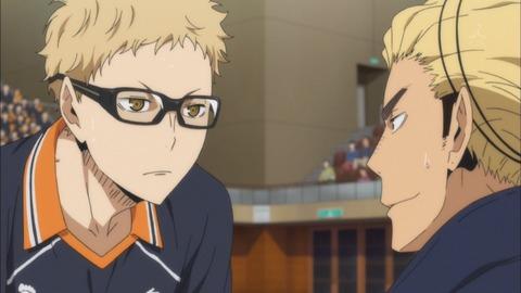 ハイキュー!! 烏野高校VS白鳥沢学園高校 第9話 感想:ツッキーがヒーローみたい、指は絶対痛そう!