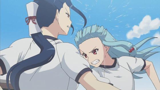 つぐもも 第3話 感想:桐葉さんの腕相撲かなりハード!勝ち越したの本当かな!