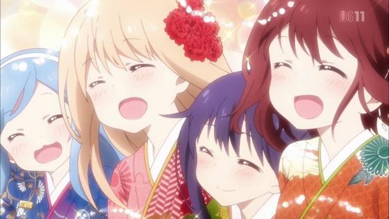 干物妹!うまるちゃんR 第12話(最終回) 感想:お正月の着物が艶やか!お年玉の無駄遣いもったいない!