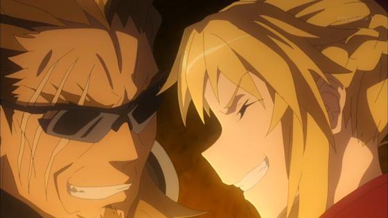 Fate/Apocrypha 第15話 感想:獅子劫さんとモーさん息ピッタリ!この信頼関係だけは続いて欲しい!