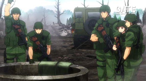 GATE 自衛隊 彼の地にて、斯く戦えり 第13話「開宴」感想:おっさんの裸いらない!