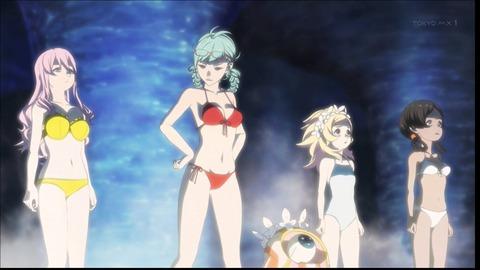 ブブキ・ブランキ 星の巨人 第16話 感想:温泉チームと全滅チームの格差が凄い!