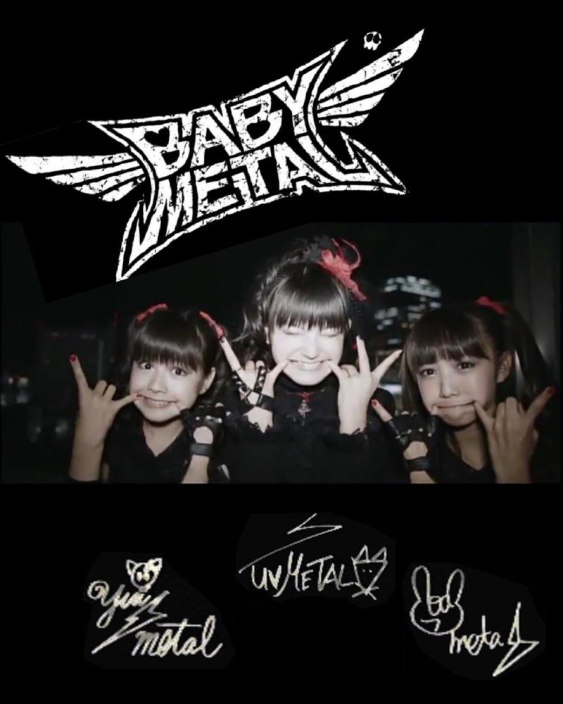 Babymetal壁紙 素材画像 Babymatometal