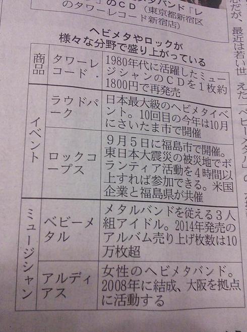 【エンタメ画像】BABYMETAL 6/3 Tweet