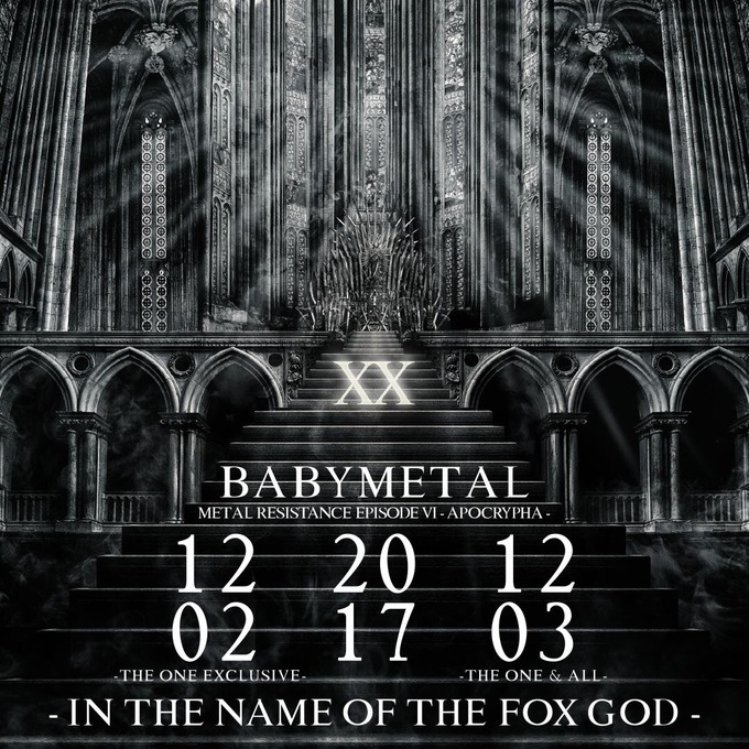 BABYMETAL「Message from the three-eyed fox named PROPHET OF THE FOX GOD!!」