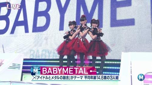 BABYMETAL Mステ画像-225211