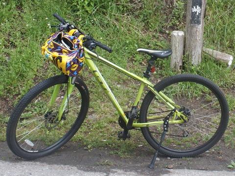 やむを得ずクロスバイクに乗り換える