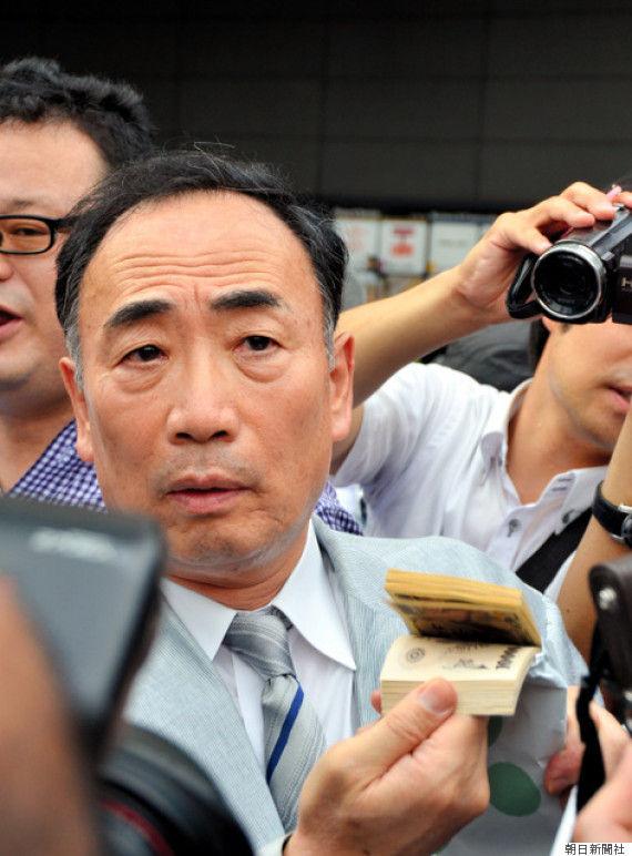 籠池氏、安倍首相の街頭演説に現る「100万円を返金したい」